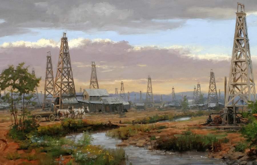 Энди Томас. Нефтяные скважины
