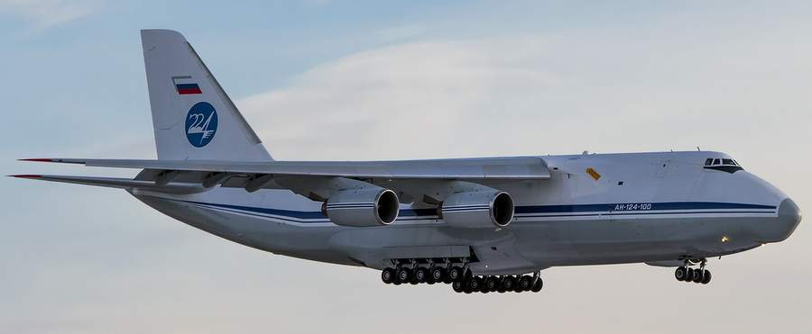 Ан-124-100, фото Григория Яблина