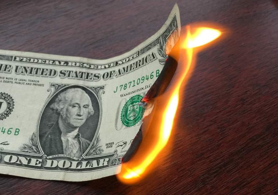 Доллар горит как швед под Полтавой