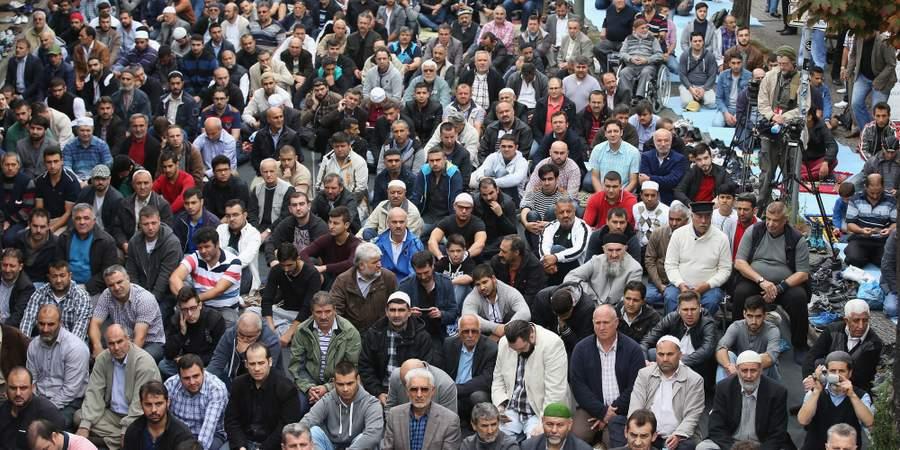 Исламский протест против ИГИЛ в Европе