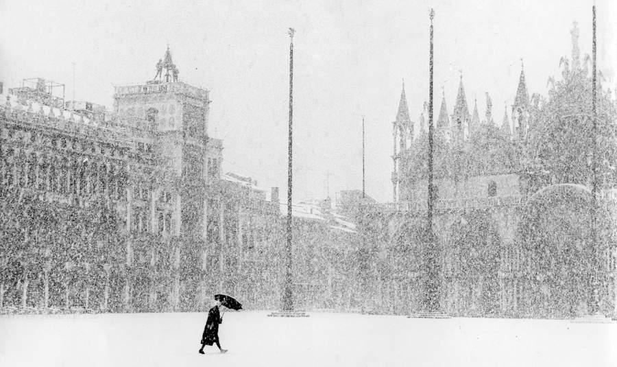 Как бы новогодняя открытка из Венеции