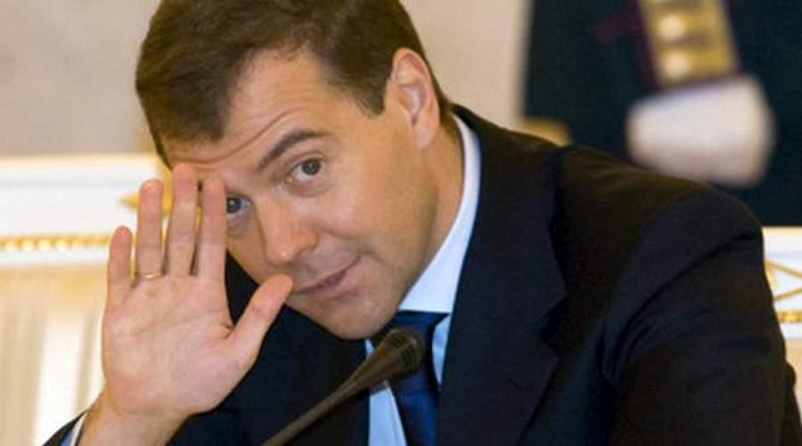 Медведев проводит совещание правительства