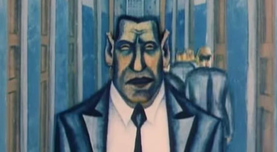 Кадр из мультфильма Андрея Хржановского Жил-был Козявин, сам фильм по ссылке