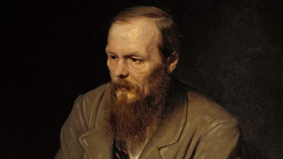 Достоевский, портрет Василия Перова. Фрагмент