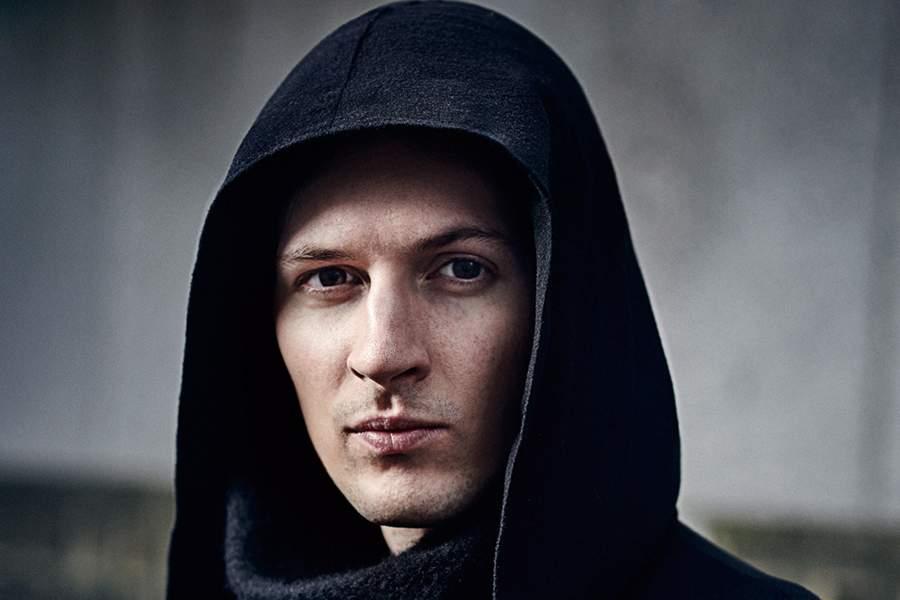 Фото Павла Дурова из журнала Wired