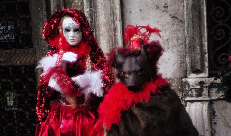 Венецианский карнавал. Фото Арсена Ревазова