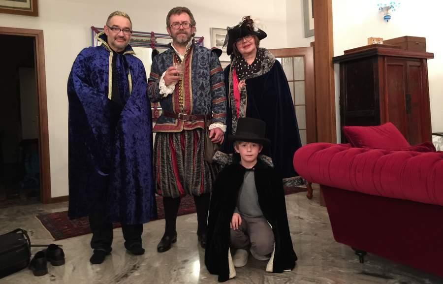 Костюмы Венецианского карнавала