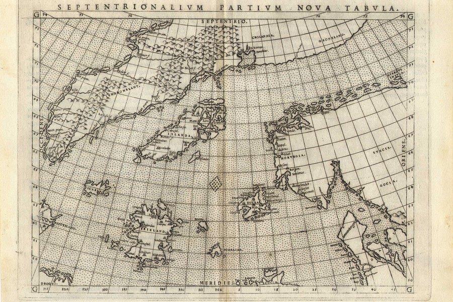 Карта Дзенов