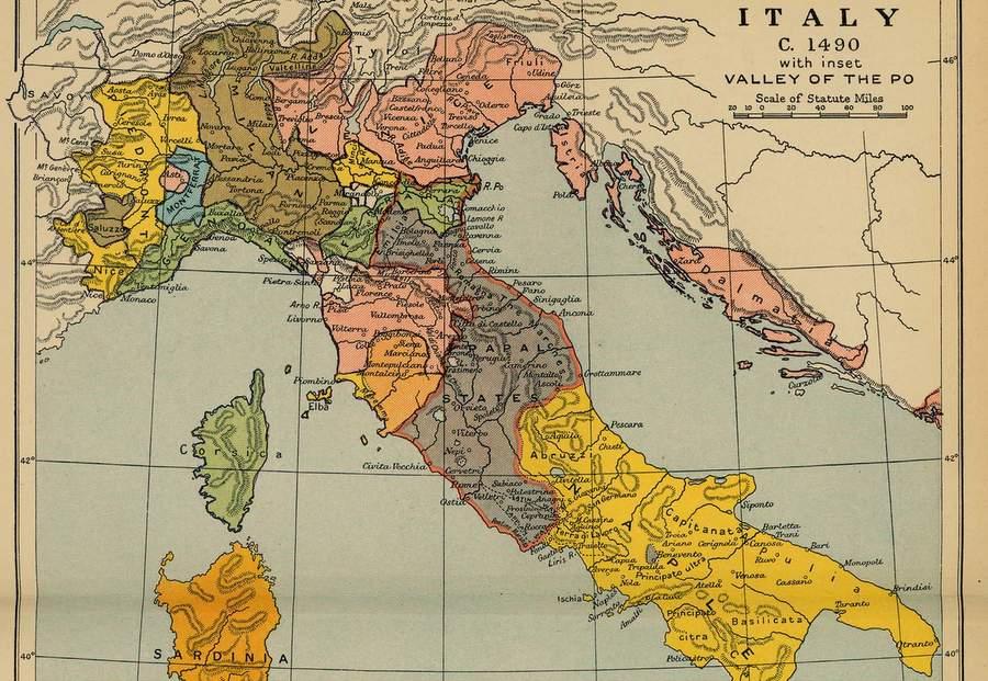 Государства Апеннинского полуострова