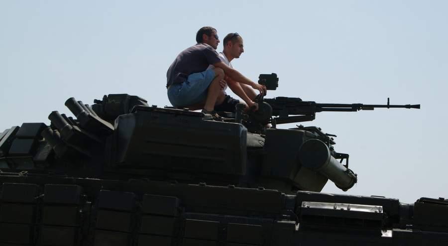Ополченцы в Карабахе