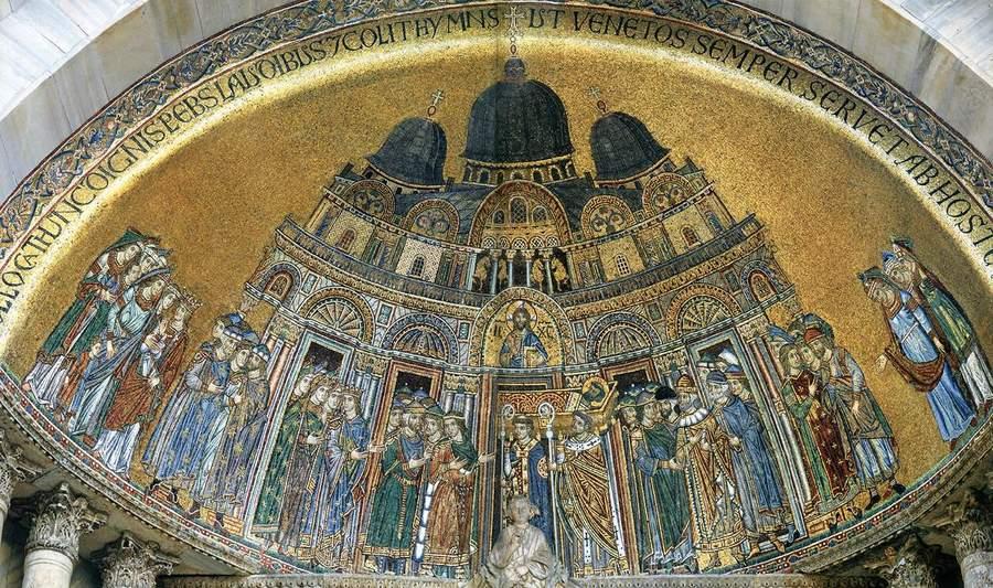 Мозаика в Соборе Св. Марка