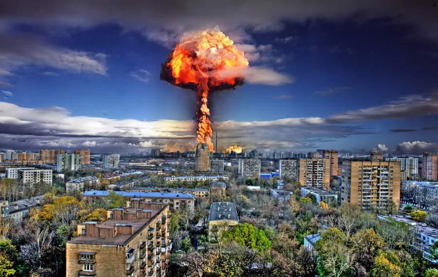 Ядерный взрыв в Москве