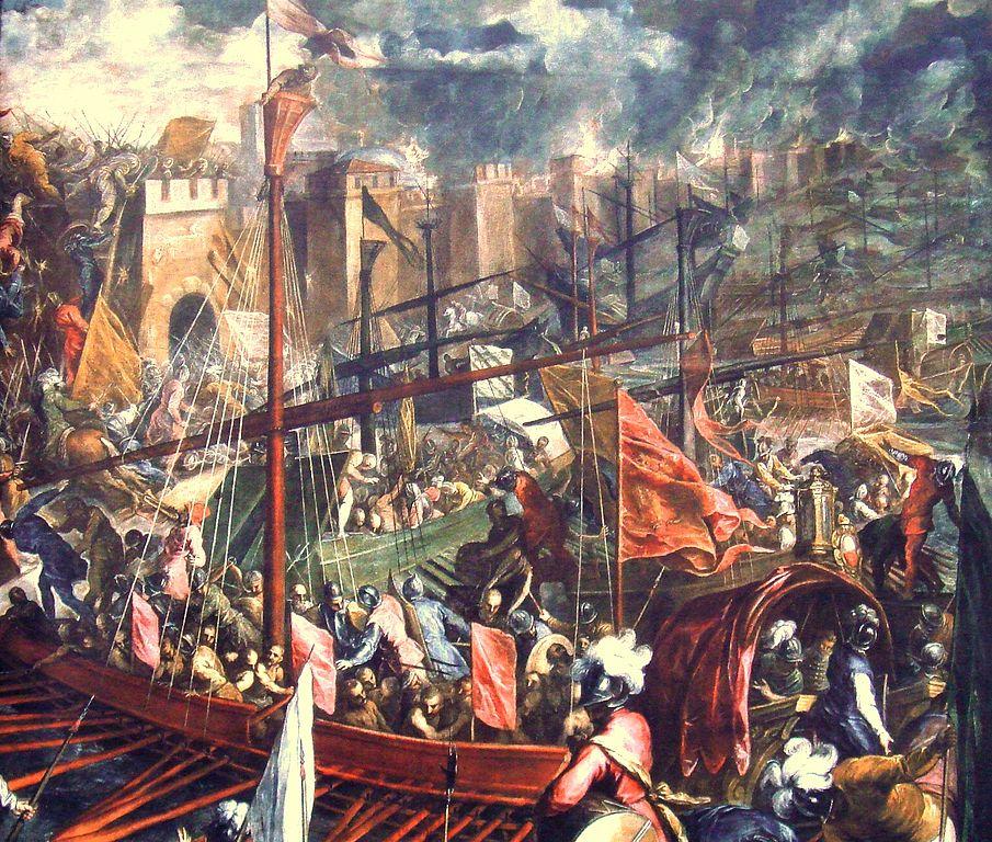 Взятие Константинополя в 1204 году