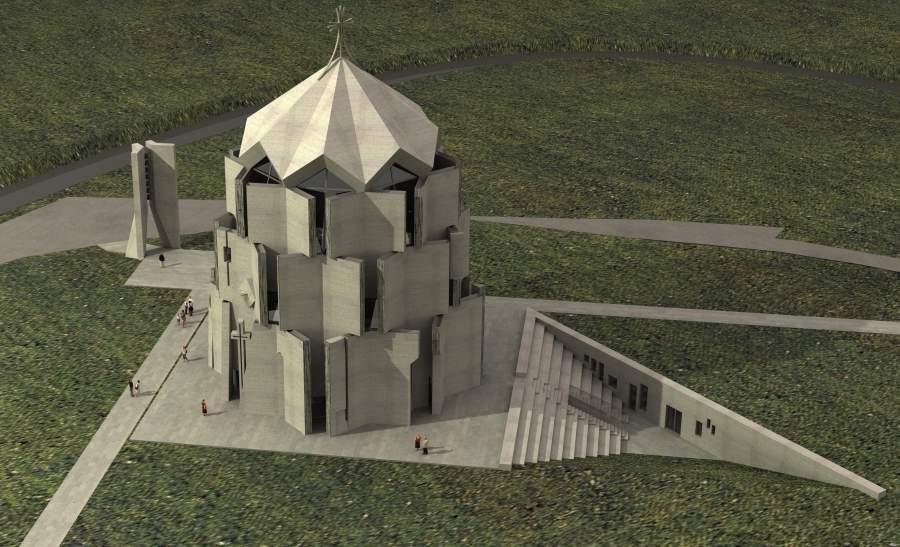 Рендер Церкви Святых Переводчиков