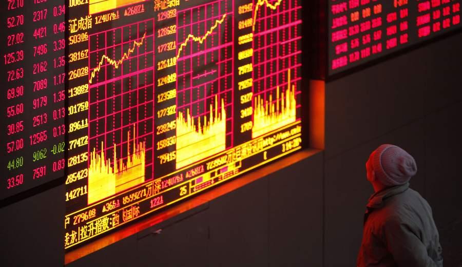 Рост на Шанхайской бирже