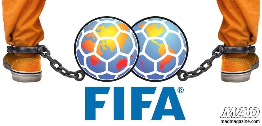 Новый логотип для FIFA, от Mad Magazine