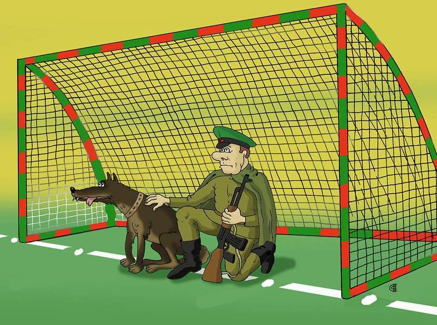 Карикатура из Бесэдера