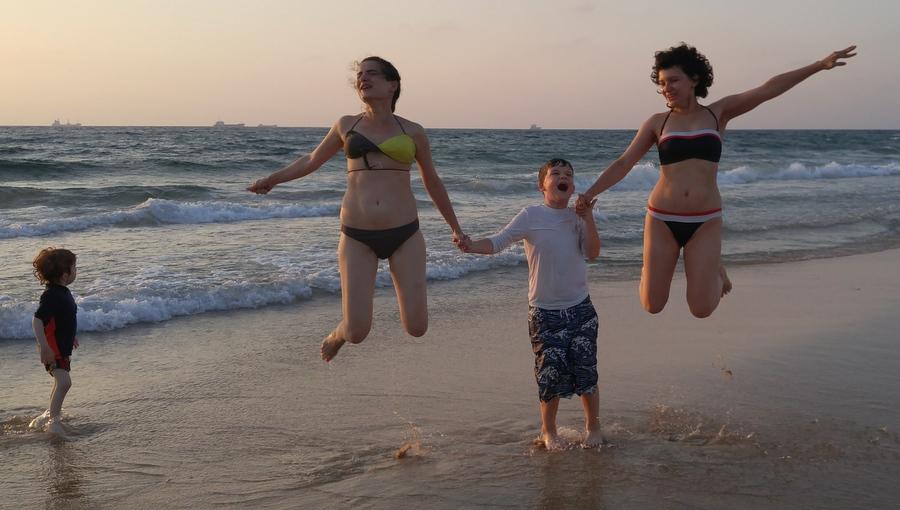 На пляже в Ашдоде