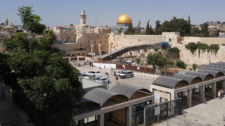 Мусорные ворота, Стена Плача, Храмовая гора