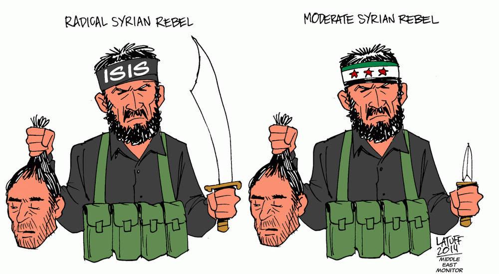 Хорошие и плохие сирийские повстанцы