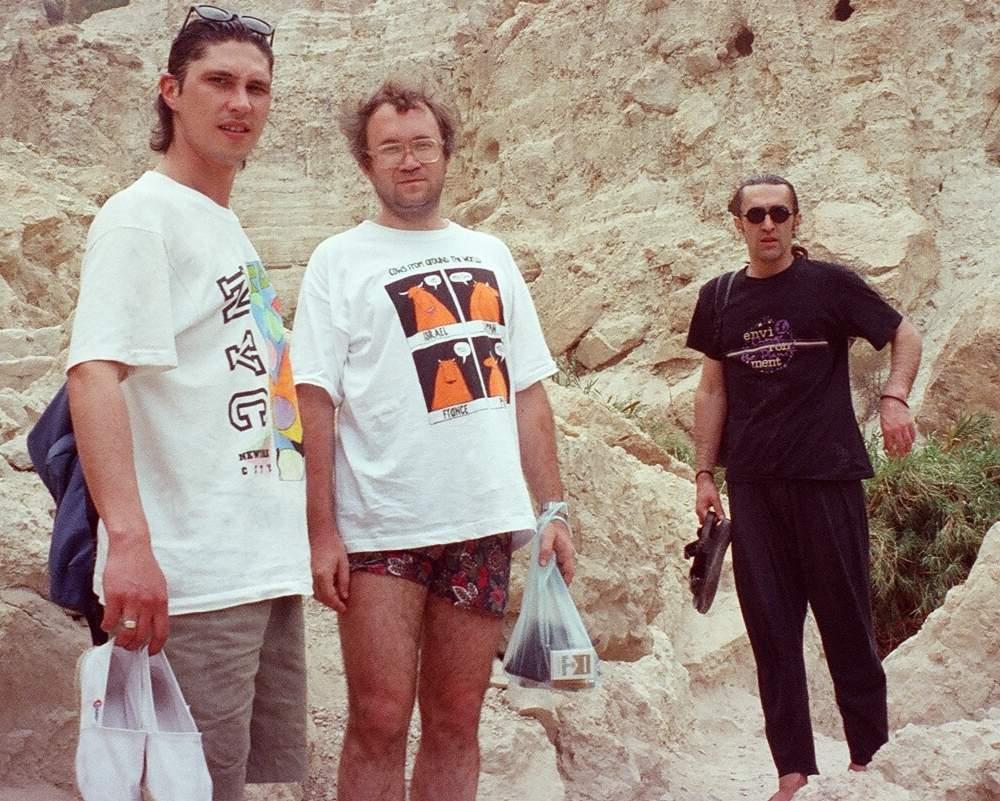 Наутилусы в Израиле, июнь 1993