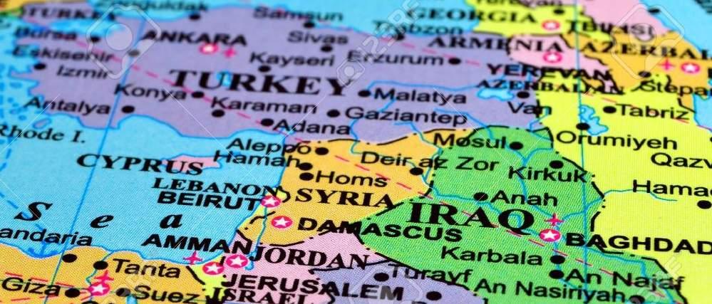 C кем граничит Сирия: несекретные данные