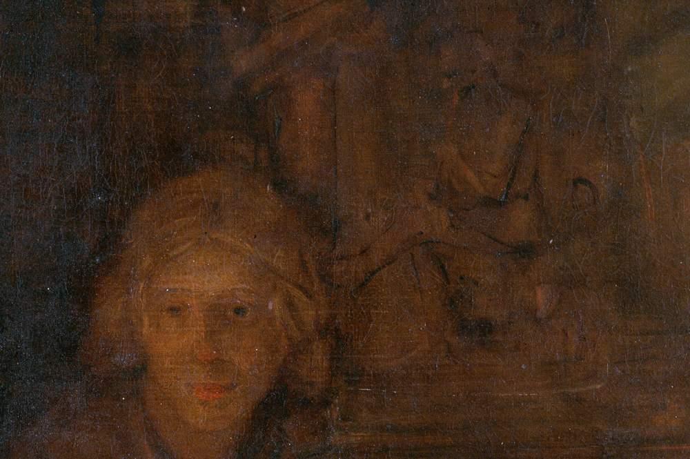 Фрагмент картины Рембрандта