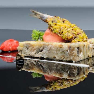 Блюдо Aquolina, рыба пармигиана