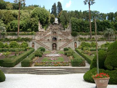 Сад виллы Гарзони