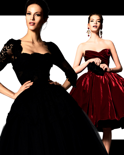 Наследие Dolce&Gabbana: корсетное платье, юбка-колокол