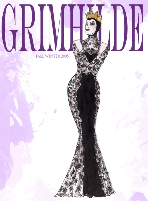 Злая Королева в Dolce&Gabbana FW 2005