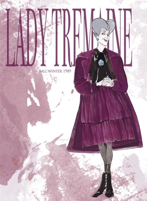 Мачеха Леди Тремейн в Dolce&Gabbana FW 1989