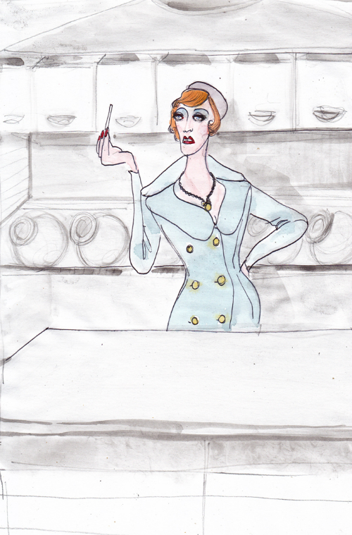 fellini-film-actresses-in-dolce-and-gabbana-fashion-illustrations-by-lucio-palmieri-amarcord-tabaccaia