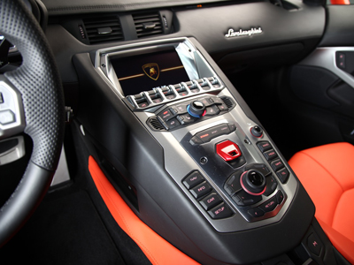 Lamborghini Aventador LP 700-4, интерьер