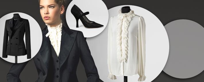 Вечерняя одежда Dolce&Gabbana FW13