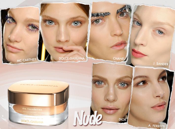 Тренды в макияже сезона FW13: естественность