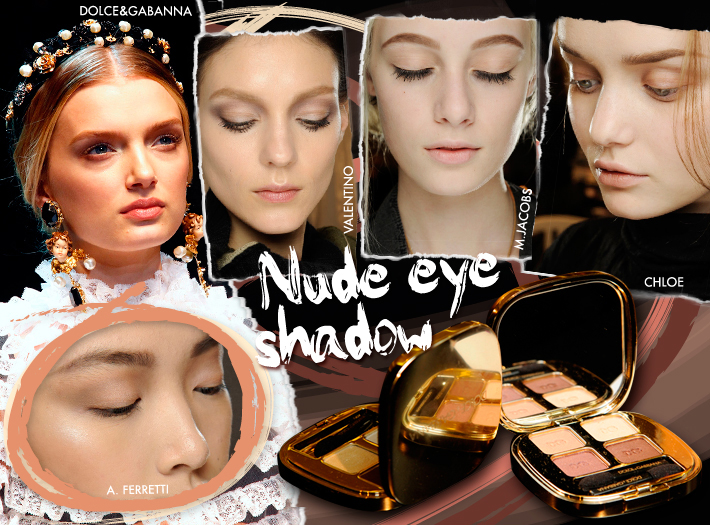 Тренды в макияже сезона FW13: тени натуральных оттенков