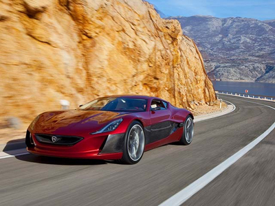Rimac Concept_On