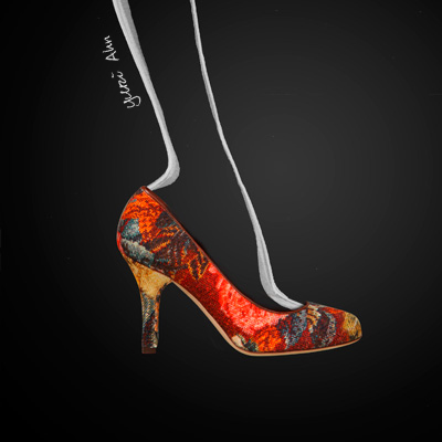 Dolce&Gabbana FW13, туфли