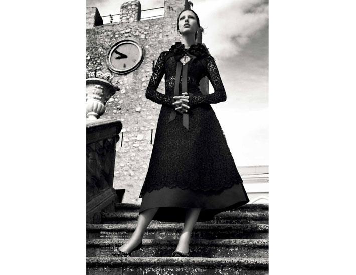 Dolce&Gabbana от-кутюр в Vogue Япония