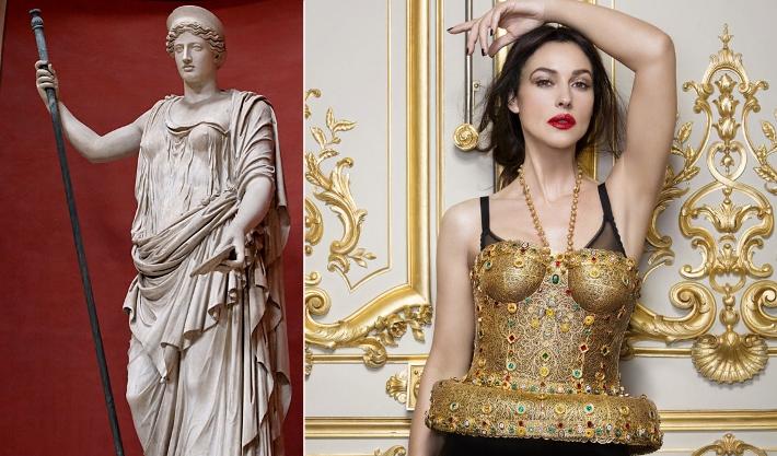 Дневнегреческие богини в фильмах