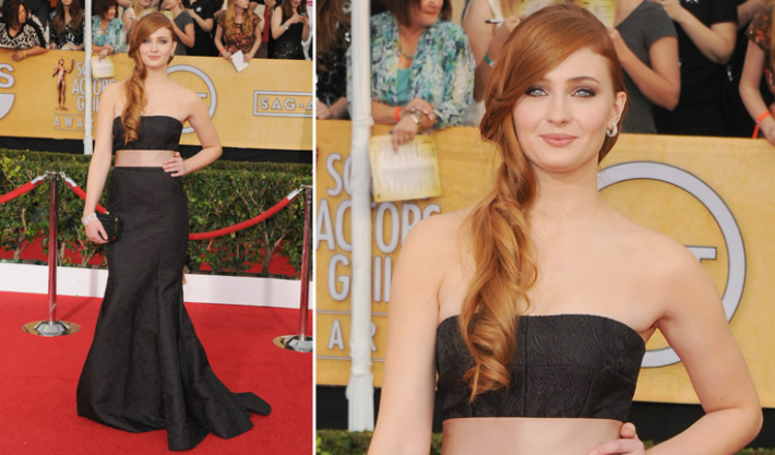 sansa-stark-controversial-theories-sophie-turner-on-game-of-thrones-4-red-carpet