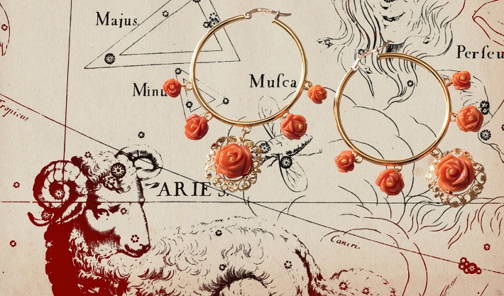 find-the-perfect-birthday-gift-ideas-for-aries-woman-according-to-the-horoscope-earrings-coral-gold-dolce-gabbana (710x417)