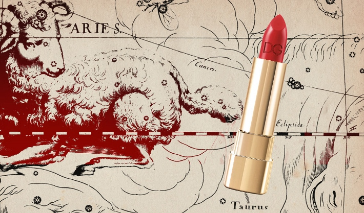 find-the-perfect-birthday-gift-ideas-for-aries-woman-according-to-the-horoscope-red-lipstick-dolce-gabbana (710x417)