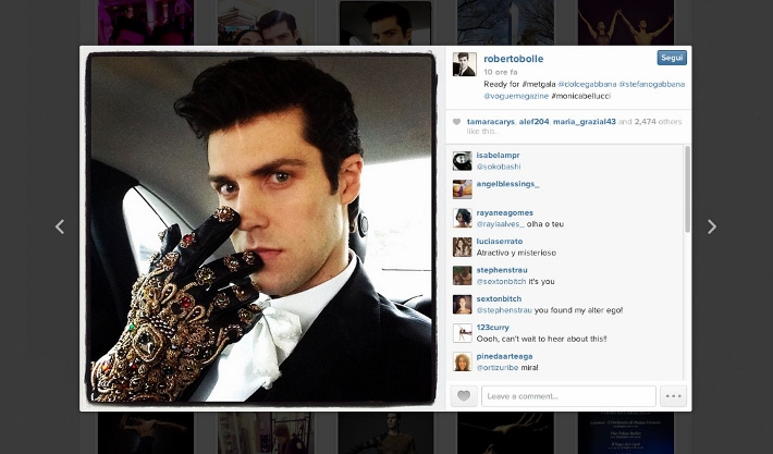 best-celebrity-instagram-pictures-met-gala-2014-dolce-and-gabbana-roberto-bolle (710x417)