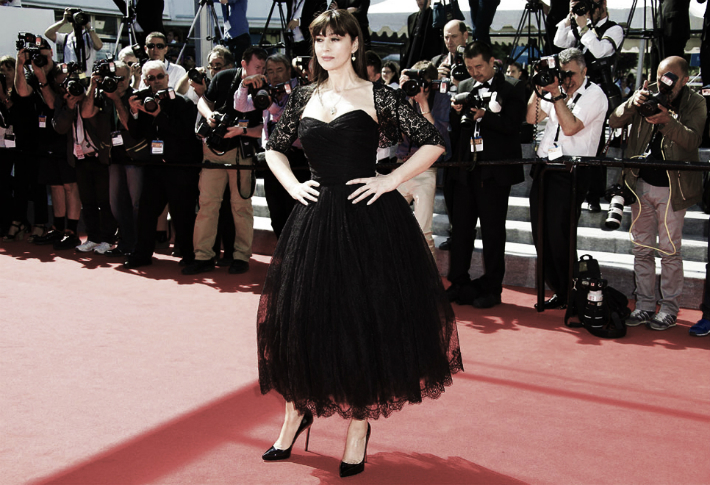 monica-bellucci-photos-cannes-2014-dolce-and-gabbana-black-dress-on-the-red-carpet-new