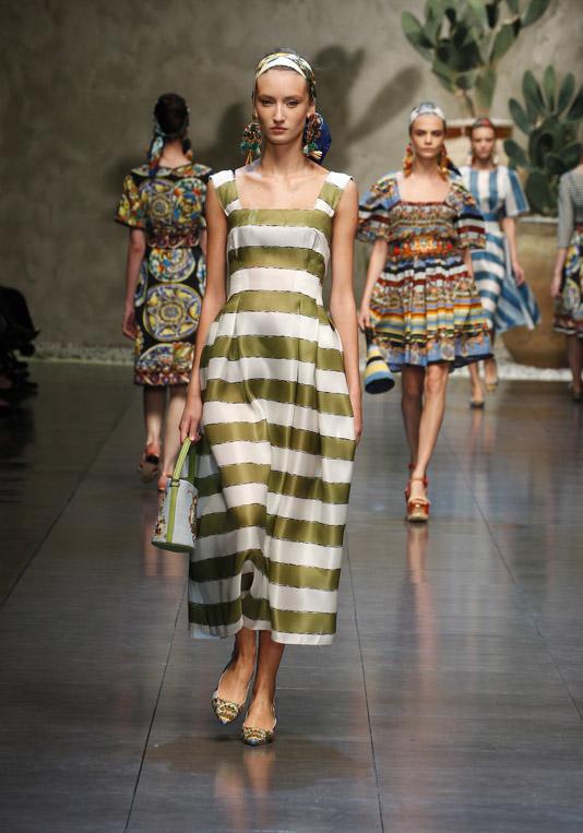 Женская коллекция Dolce&Gabbana SS13: сицилийский фолк