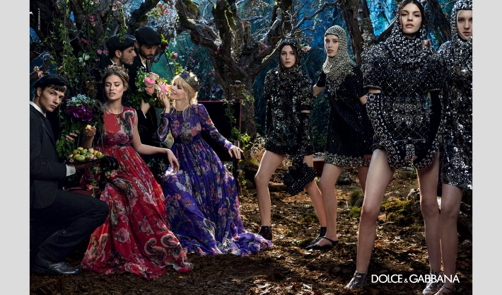 dolce-and-gabbana-fall-winter-2014-2015-campaign-ad-woman-collection-photos-nastya-sten (710x417)