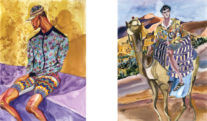 fashion-illustration-for-dolcegabbana-spring-summer-2014-by-jiiakuann-5