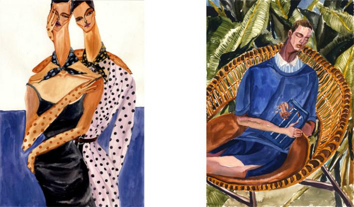 fashion-illustration-for-dolcegabbana-spring-summer-2014-by-jiiakuann-4